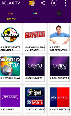 Relax TV APK Best IPTV Download Android Watch Over 50000 Channels
