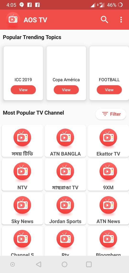 Download AOS TV APK