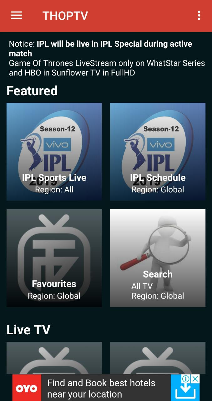 ThopTV APK Download on Android (LATEST VERSION RELEASED)